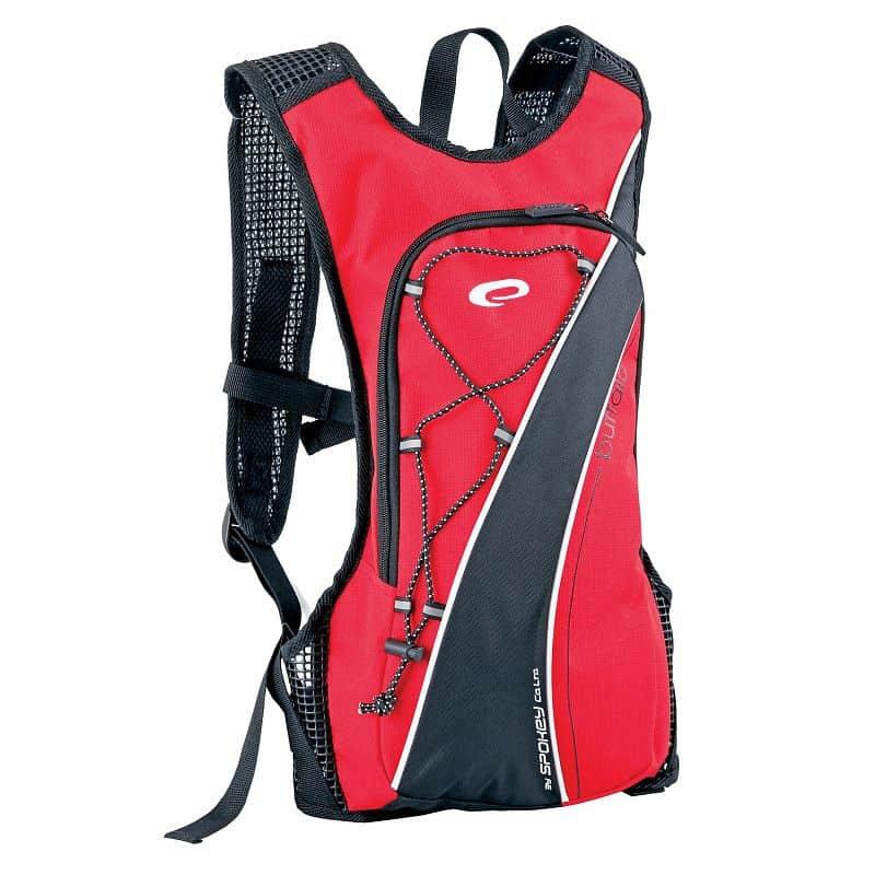 BUFFALO  - cyklistický a sportovní batoh červený 2l , voděodolný
