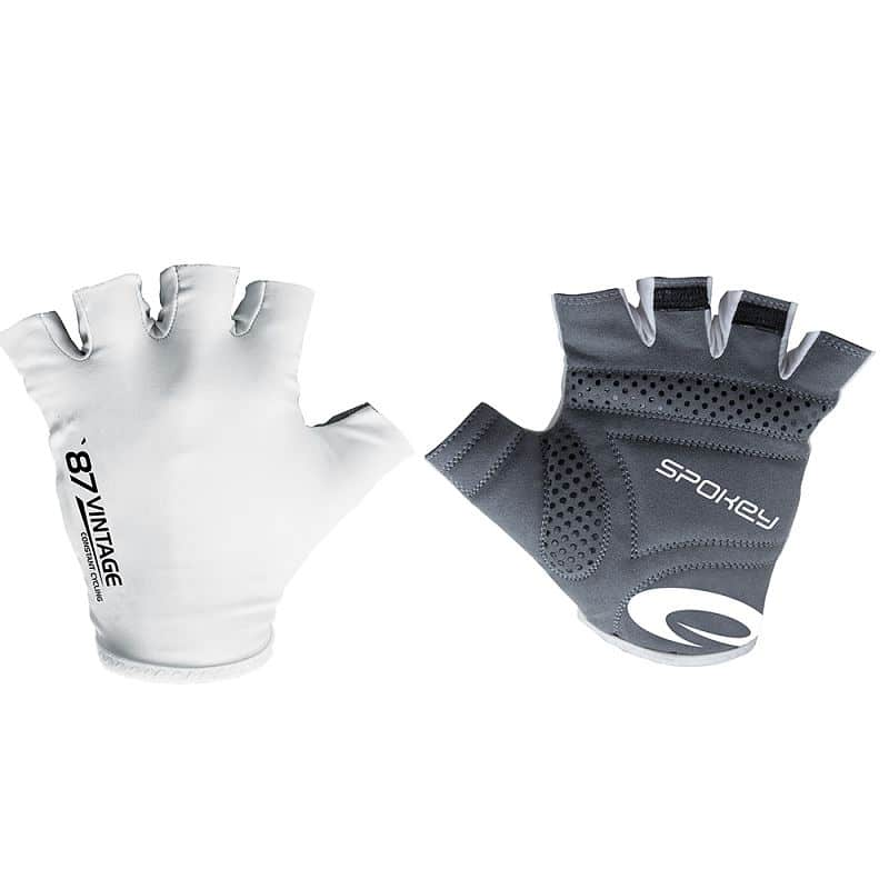 VINTAGE WHITE Cyklistické rukavice