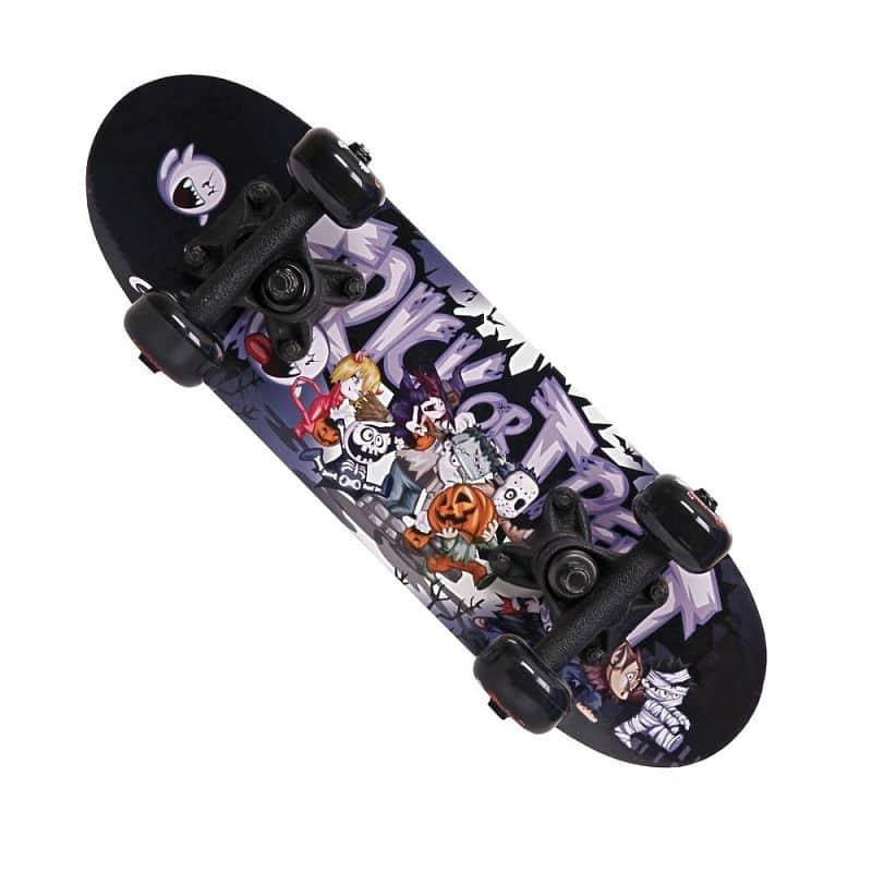 TRICK OR TREAT Skateboard mini 43 x 12,5 cm