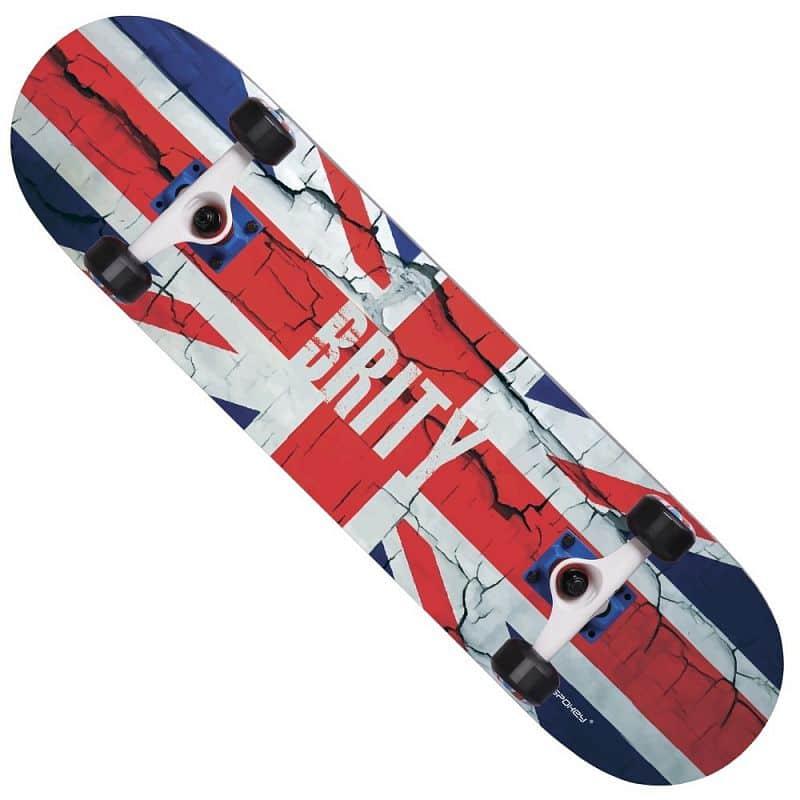 BRITY Skateboard 77,5 x 20 cm, ABEC 5