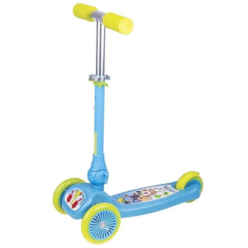 FUNZOO - Skládací tříkolka dětská modrá