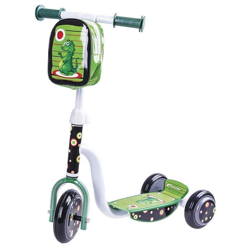 DINNO Tříkolka dětská zelená