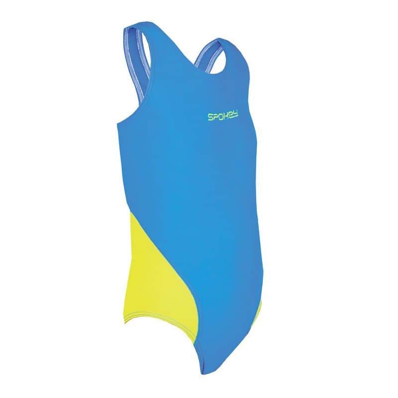 MUNA JUNIOR Dívčí plavky modro-žluté