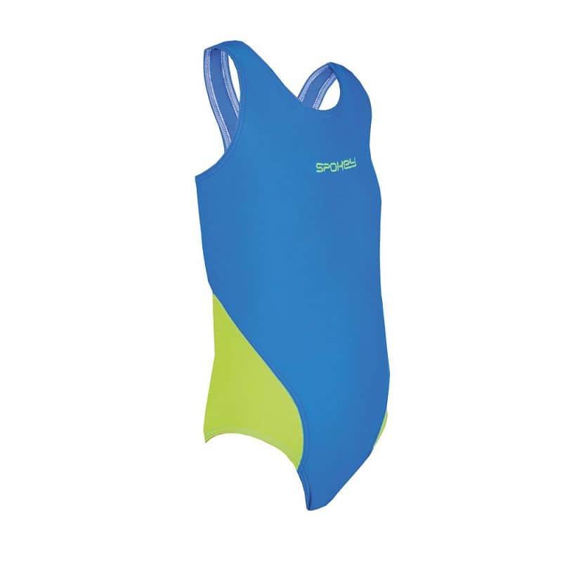 MUNA JUNIOR Dívčí plavky modro-zelené