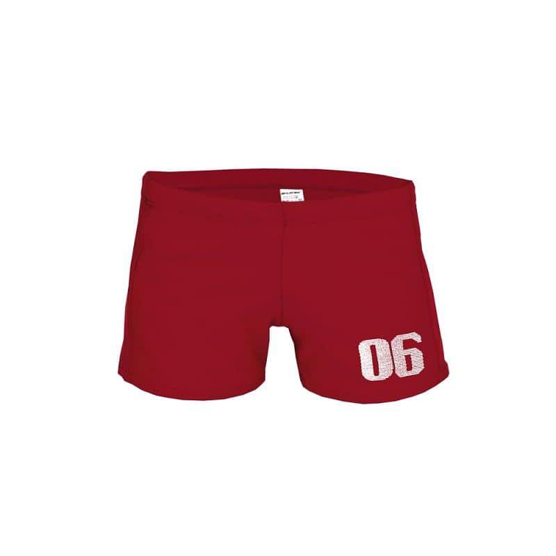 ZERO SIX JUNIOR Chlapecké plavky červené