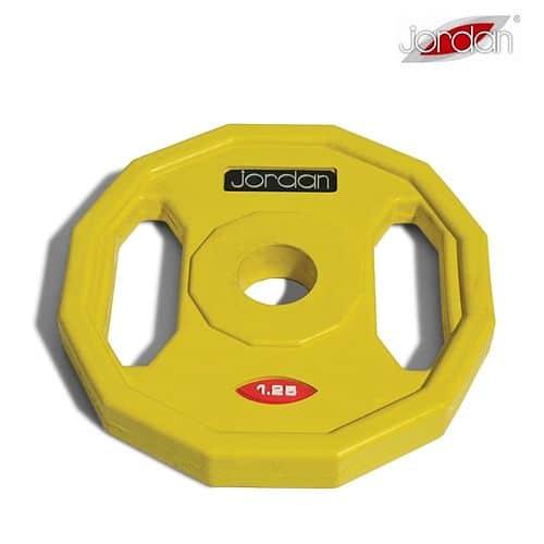 Štúdio Barbell Jordan kotúč 1,25 kg žltý