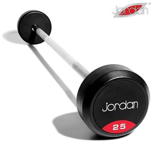 Bicepsová činka Jordan Fitness 10 kg