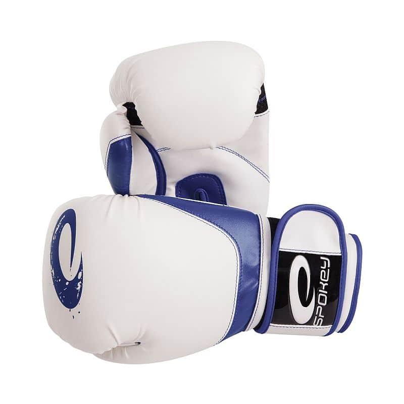 JIEITAI Boxerské rukavice modré 10-12oz
