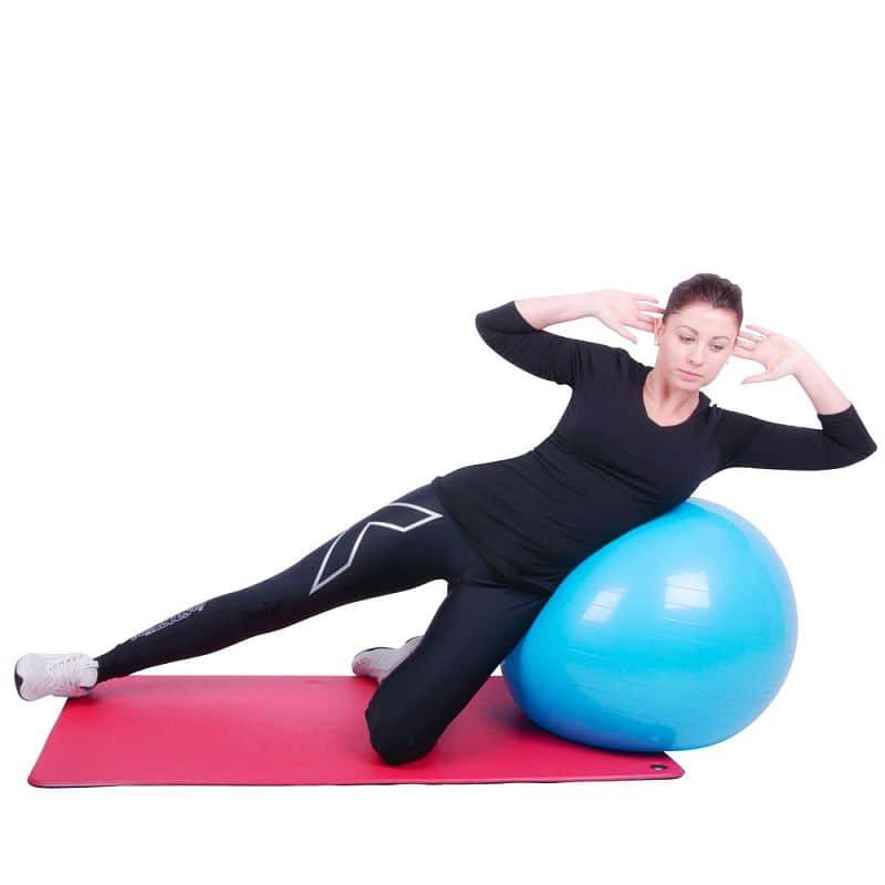 Gymnastický a masážní míč 75 cm