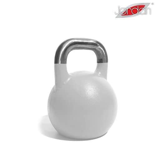 Kettlebell JORDAN Fitness Competition 40 kg bílý