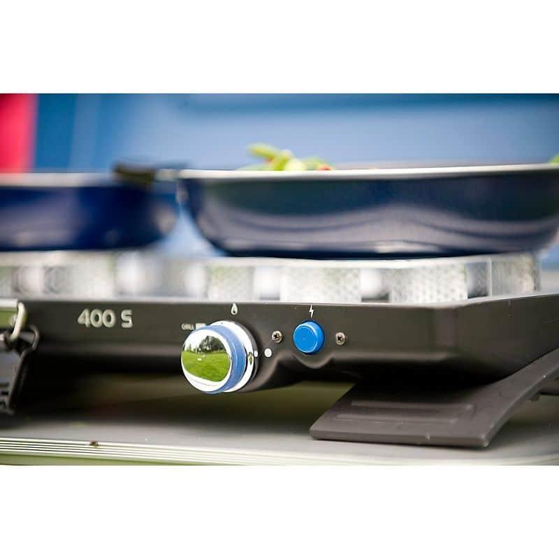 400-S STOVE - dvouplotýnkový vařič na PB lahve (2 x 2200 W / 6 kg)