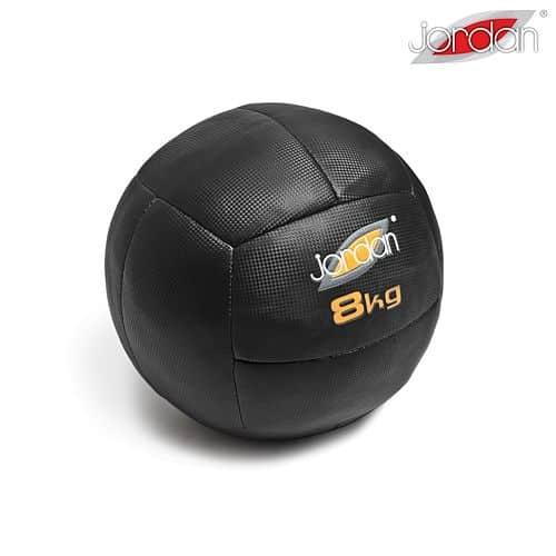 Oversized Medicineball Jordan Fitness 8 kg oranžový
