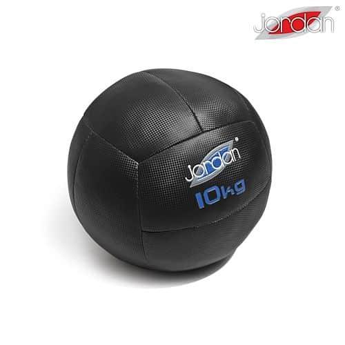 Oversized Medicineball Jordan Fitness 10 kg modrý