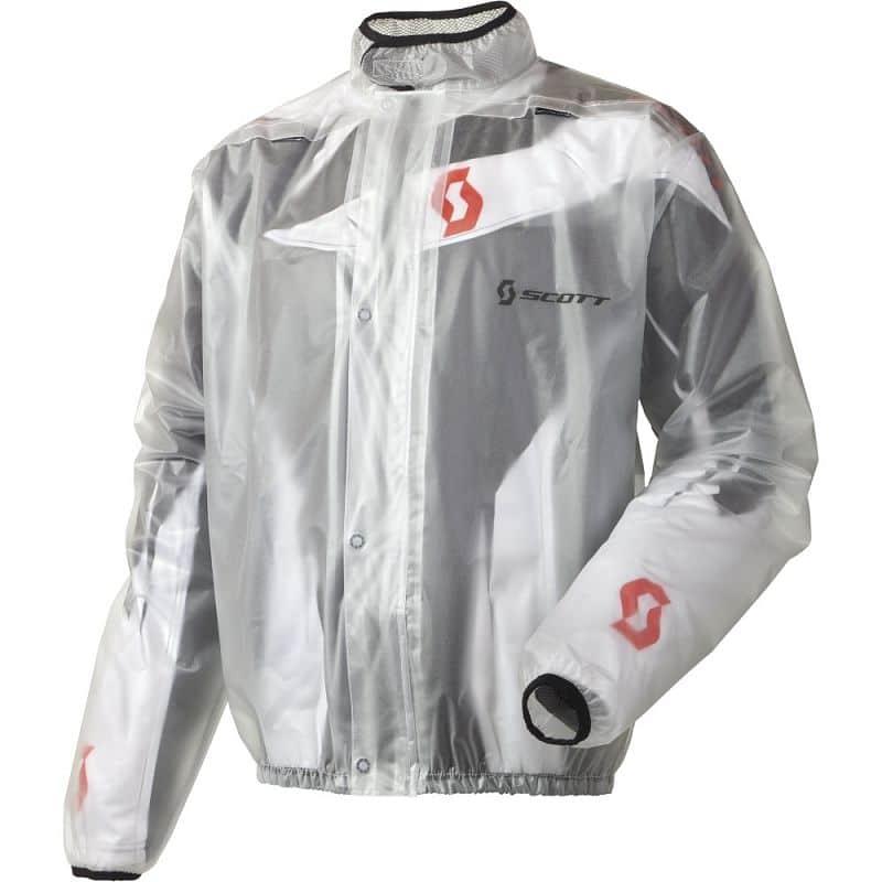 Moto pláštěnka SCOTT Rain Coat Barva čirá, Velikost XXL (58)