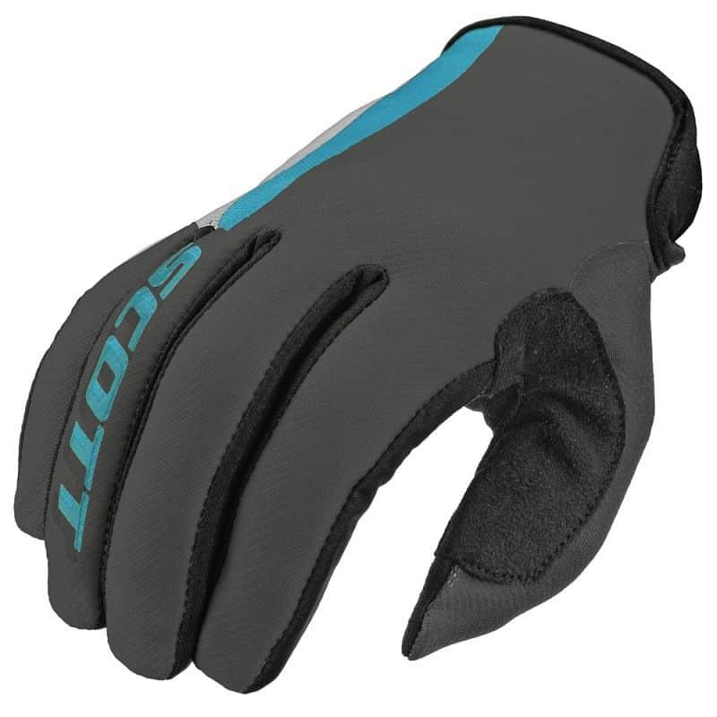 Motokrosové rukavice SCOTT 350 Dirt MXVI Barva šedo-modrá, Velikost M