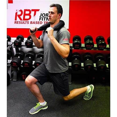 Flexi bag Jordan fitness 5 kg - žlutá