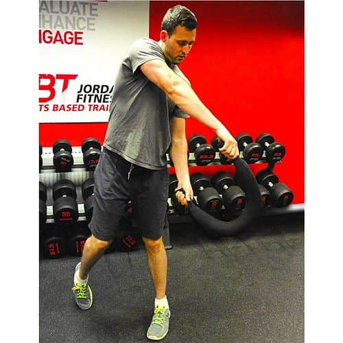 Flexi bag Jordan fitness 20 kg - červená