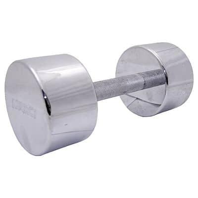 2x Jednoruční činka MARCY - chrom 25 kg