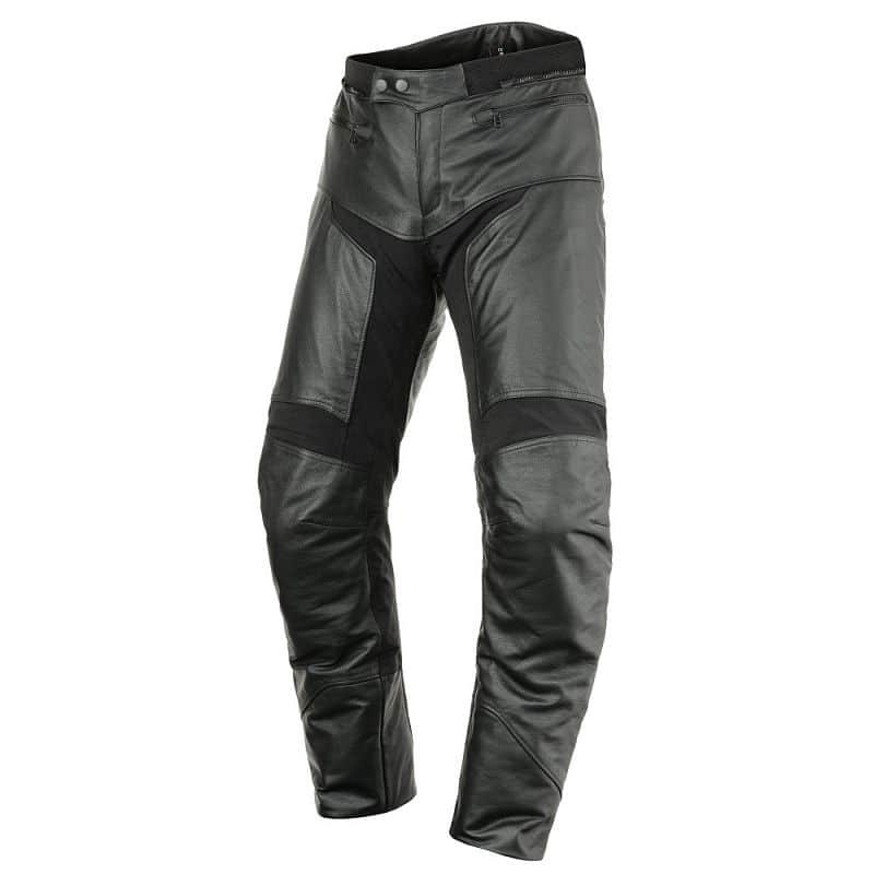 Kožené moto kalhoty SCOTT Tourance Leather DP Barva černá, Velikost M (32)