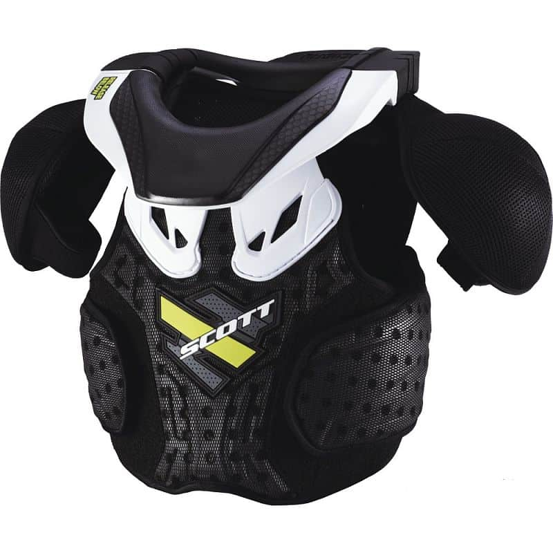 Chránič těla SCOTT Neck Armor Junior Barva černá, Velikost XS