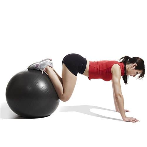 Gymnastický míč PROFI FIT Ball JORDAN 55 cm červený