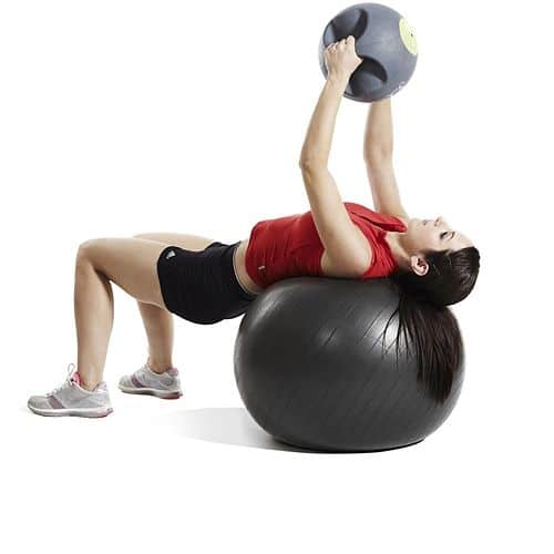 Gymnastický míč PROFI FIT Ball JORDAN 65 cm černý