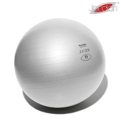 Gymnastický míč PROFI FIT Ball JORDAN 75 cm stříbrný