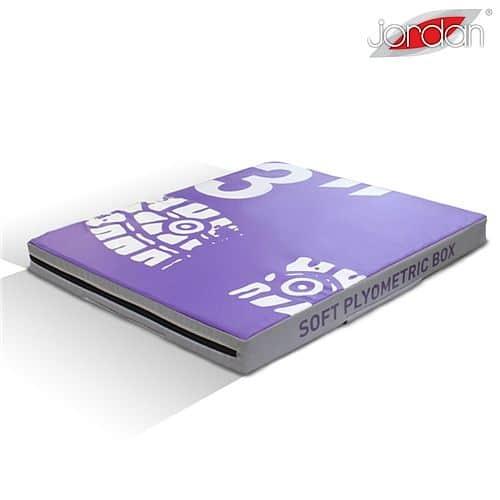 Plyometrická deska měkká Jordan Fitness 7,6 cm fialová