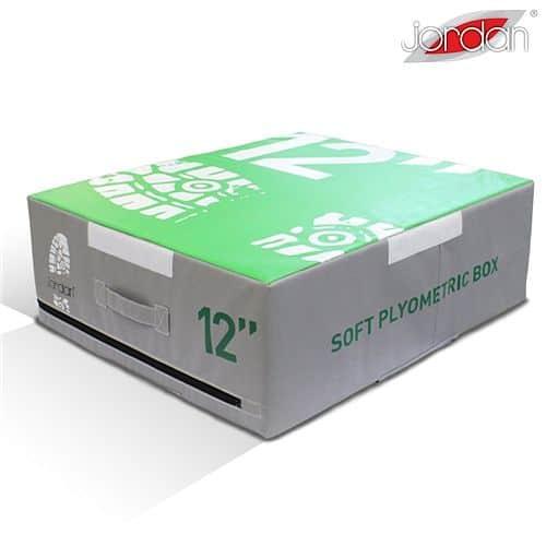 Plyometrická deska měkká Jordan Fitness 30,5 cm zelená