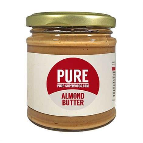 Prírodné mandľové maslo Pure Superfoods 170g