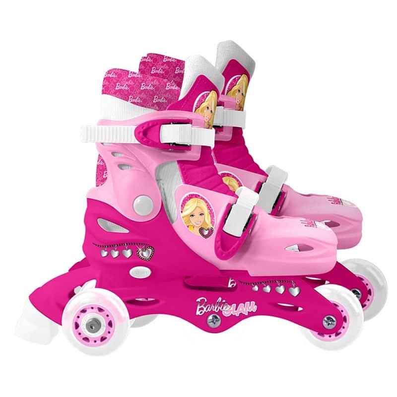 Kolečkové brusle Barbie Tri