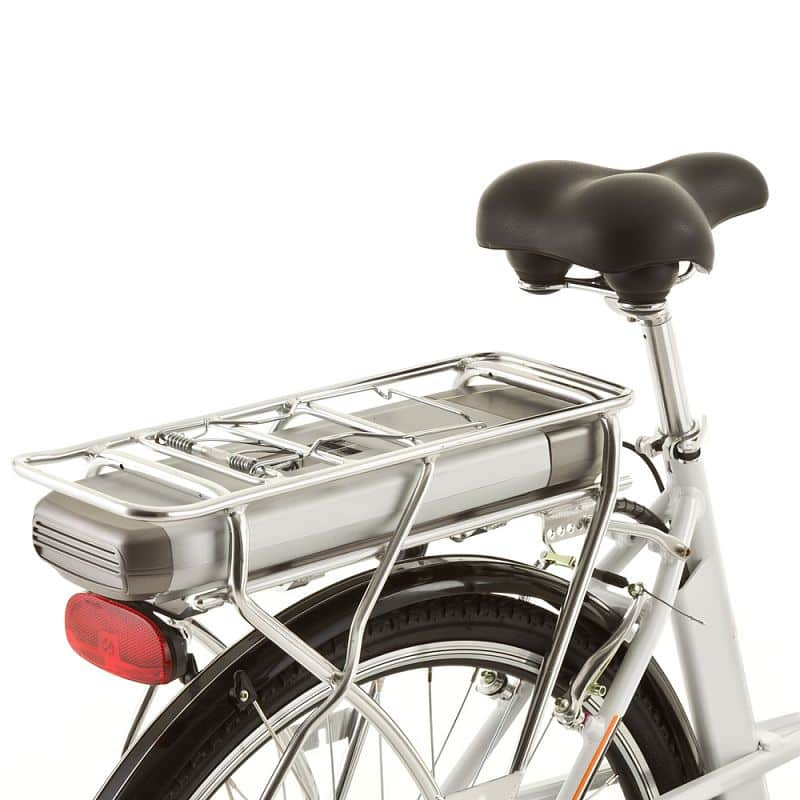 Nosič s držákem baterie pro elektrokola