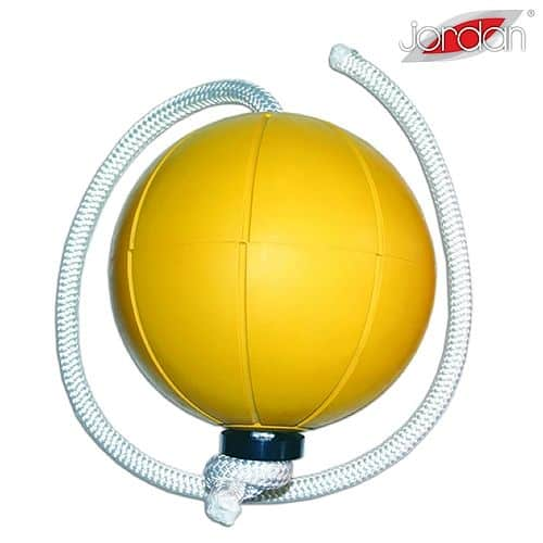 Loumet rope ball JORDAN 4 kg žlutý
