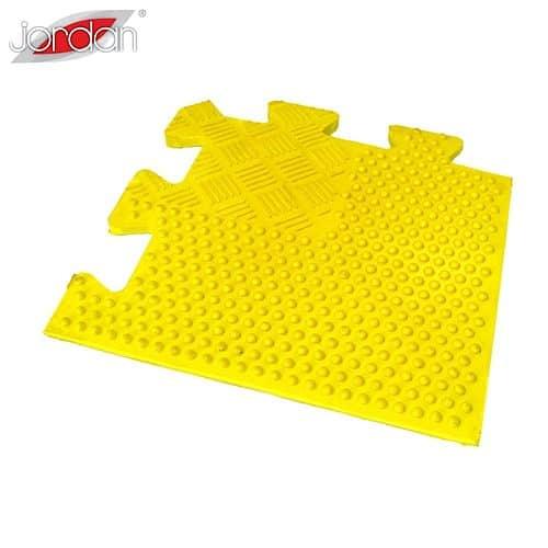 Easy-Lock Free weight 12 mm Jordan Fitness - Roh žltý