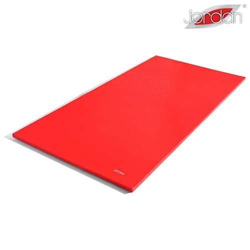 Stretchová podložka Jordan Fitness - Červená
