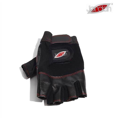 JORDAN Vzpěračské rukavice černá - krátké