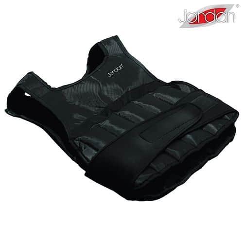 Zátěžová vesta Jordan 5 kg - černá