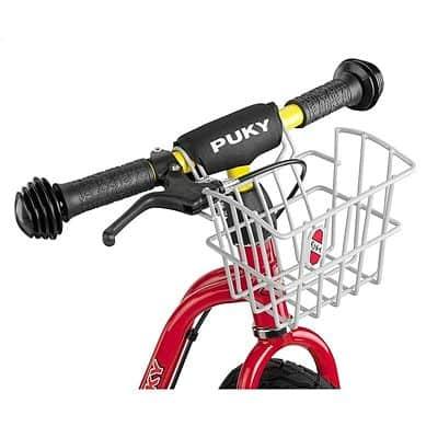 Predný košík na bicykel strieborný