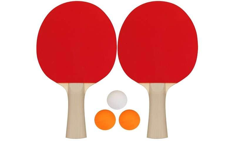 Set na stolný tenis Get & Go - rakety a loptičky