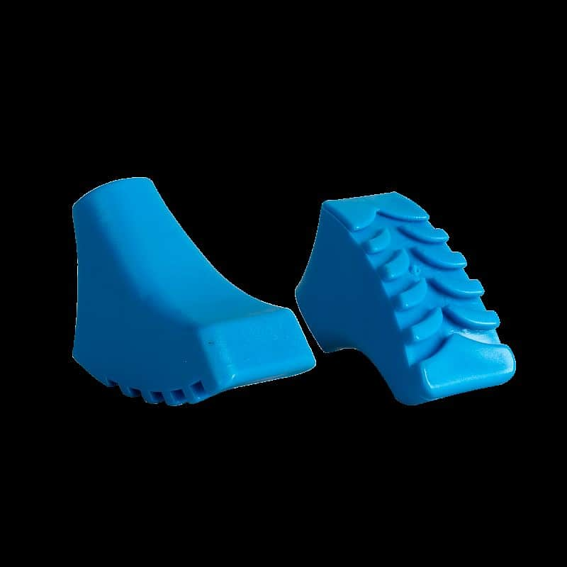 CALLOUS-Koncovky holí modré NORDIC-WALKING