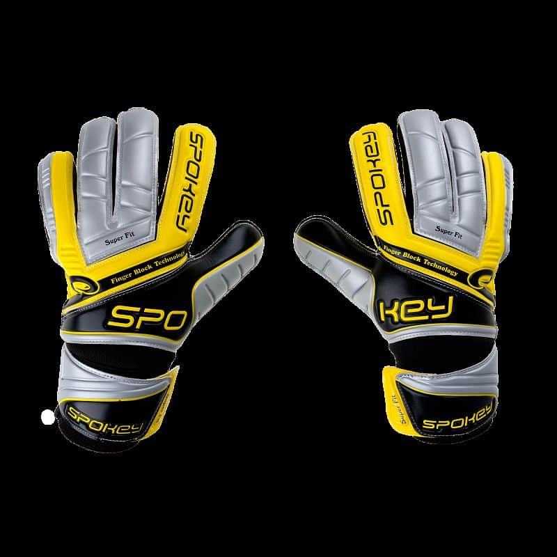 TOUCHžlu Brankářské rukavice žluté
