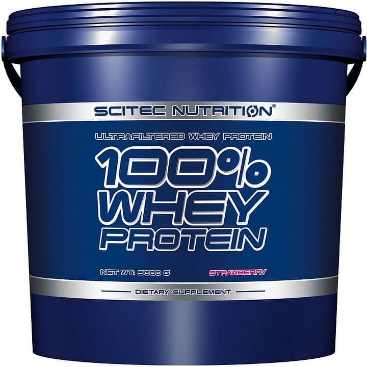 100% Whey Protein Scitec 5000g