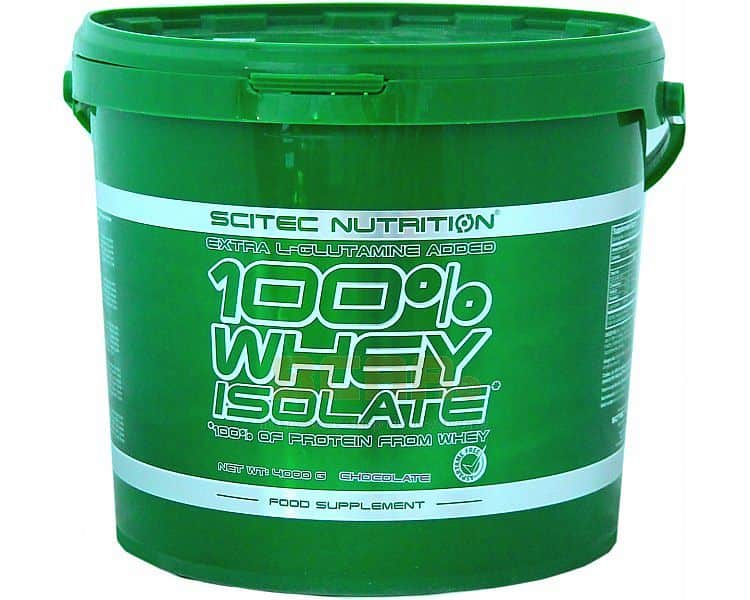 100% Whey Isolate Scitec 4000g