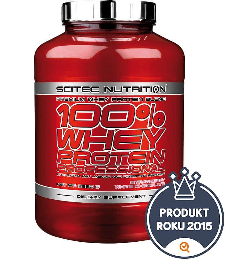 Scitec 100% Whey Protein Professional 920 g banán
