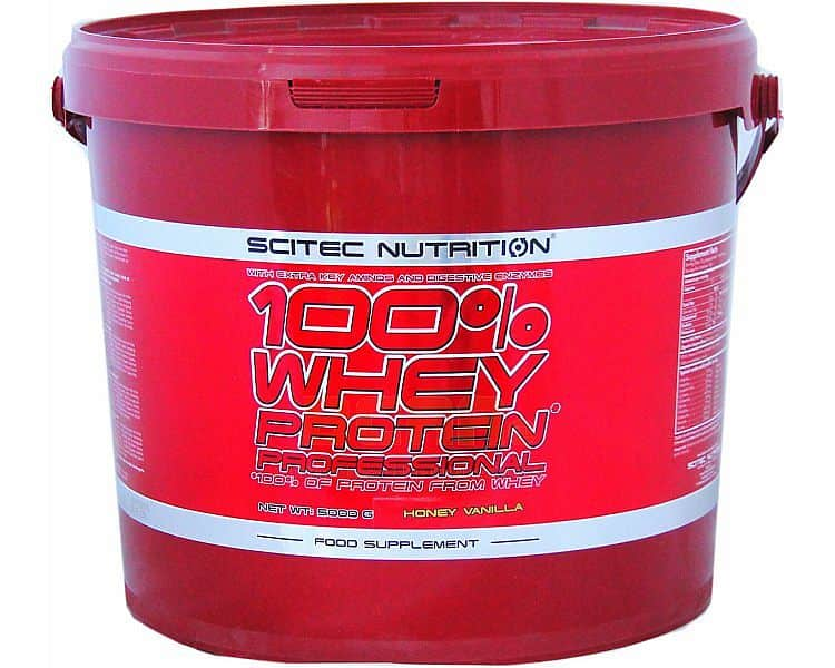 Scitec 100% Whey Protein Professional 5000g banán
