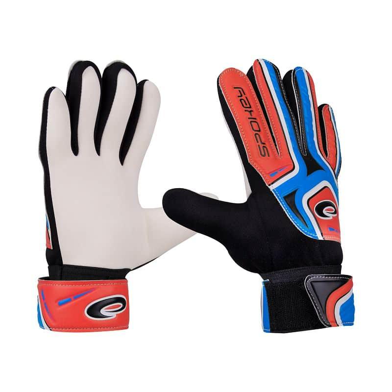 CATCH II Brankářské rukavice modro-červené