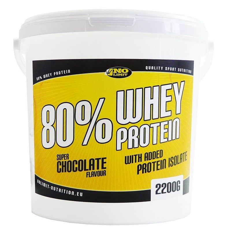 80% Whey protein - VÝPRODEJ