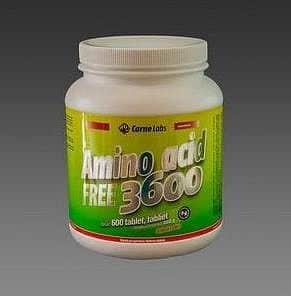 Amino Acid Free 3600 - 600 tablet - VÝPRODEJ