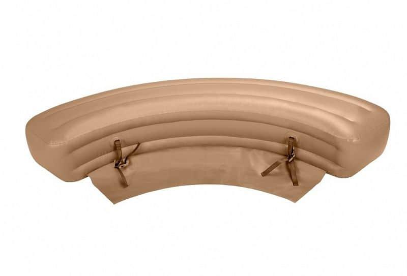 Nafukovací lavice k vířivce Intex - béžová