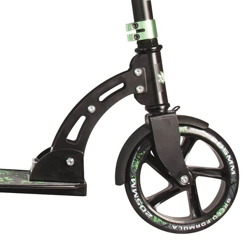 Skládací koloběžka Authentic NoRules 205 černo-zelená